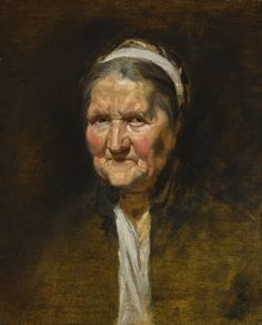 Peter Paul Rubens - Study of an old woman