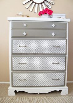 DIY Wood Shim Dresser Tutorial!! #1  http://tatertotsandjello.com/2014/03/diy-wood-shim-dresser.html