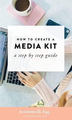 How to Create a Killer Media Kit
