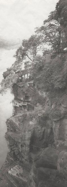 Da Fu, Le Shan, Sichuan, China  Lois Conner (1951)