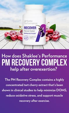Discover how the PM Recovery Complex helps your body recover faster after a workout. Sports Nutrition, Healthy Nutrition, Healthy Tips, Cherry Tart, Muscle Recovery, Oxidative Stress, Wellness Center, Healthy Weight, Stay Fit
