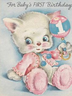 best ideas for baby cards vintage