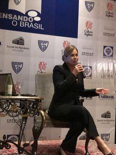 """Mary Del Priore reabre o """"Pensando o Brasil"""", programa com participação da B'nai B'rith do Paraná."""