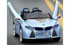 BMW i8 blue power wheels