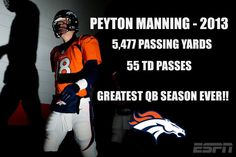 From John Elway to Peyton Manning, the fans of the Denver Broncos stand proud!