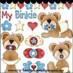 My Binkie 1a Clip Art