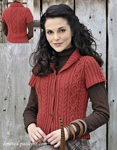 """The website that this sweater pattern is on has tons of FREE patterns. There home page has no photo to """"Pin"""" though so you'll have to use the search feature to find what you want."""