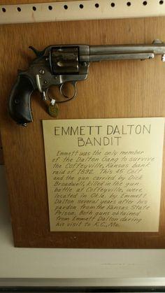 Emmett Dalton's Colt 'Thunderer' Model 1878 Double Action Revolver