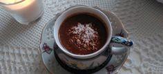 Gorąca czekolada na mleku kokosowym #czekolada #kokos #goracaczekolada #mlekokosowe #deser #naslodko