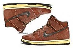 Nike 6.0 Dunk High – 'Sad Autumn' – Brown Denim