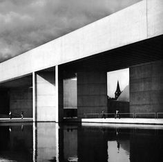 The bold forms of brutalism by Kevin Roche.