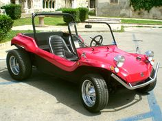 Similar to my very first car, which I built from a crashed VW.