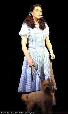 Off to see the wizard: Over The Rainbow winner Danielle Hope makes Dorothy debut with Michael Crawford Wizard Of Oz Musical, Dorothy Gale, The Verdict, Ruby Slippers, Over The Rainbow, Style Me, Musicals, February, Feminine