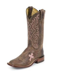 Women's Tan Saigets Worn Goat H Toe Boot  **Think I might be sporting new boots @ Ft Worth Stock Show this year :)