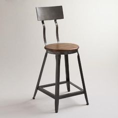 One of my favorite discoveries at WorldMarket.com: Hudson Counter Stool