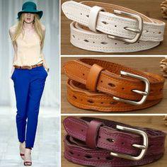 2017 New designer high quality genuine leather belts for women fashion brand Vintage ladies luxury pin buckle women waist belt