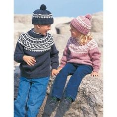 Free Easy Child's Sweater Knit Pattern