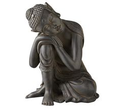 sleeping Buddha statue....just brought a huge one of these home to Robbin's Lair for the Foyer entrance table to go in front of a mirror, under the balinese lintel.