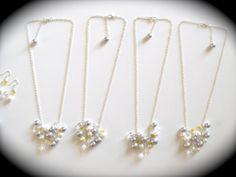 Custom Bridesmaid Jewelry for my wedding!