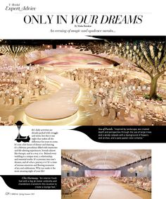 Check out our work in U BRIDAL - the first luxury wedding magazine in the Middle East!   http://www.designlabevents.com/design-and-planning/we-are-in-u-bridal-magazine/