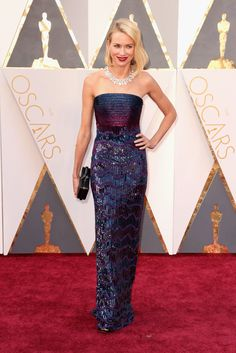 The Oscars 2016 Best-Dressed List Could Be The Best Of All Time: Naomi Watts in Armani