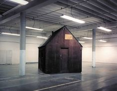 The Unabomber's cabin, held in an FBI storage facility on an airforce base in Sacramento : evilbuildings