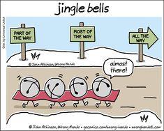 Cartoons by John Atkinson. Funny Cartoons, Funny Jokes, Hilarious, Christmas Jokes, Christmas Fun, Christmas Coffee, Christmas Countdown, December Quotes, December 22