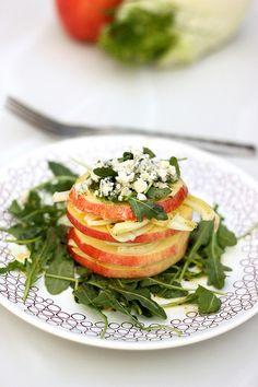Apple Fennel Salad Stack