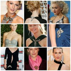 STYLE'N   9 ways to wear a brooch with style #jewelry #brooch #fashion