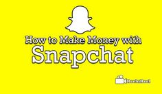 Make Money with Snapchat Video Advertising, Marketing And Advertising, Snapchat Video, Industry Research, Seo News, New Market, News Blog, How To Make Money, Youtube
