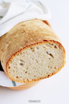 posmakujto! | Prosty chleb pszenny na zakwasie Bread Rolls, Rolls Recipe, Bread Recipes, Bakery, Food And Drink, Eggs, Sweets, Cooking, Breads