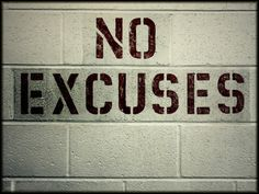 Fortville Mama: Fit Friday - Excuses, Everybody's Got Them