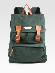Fred Perry Washed Cotton Rucksack