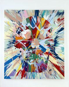 Beautiful Vest Claustrophobia Painting   Damien Hirst   2008