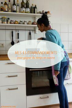Astuces pour gagner du temps en cuisine echosverts.com