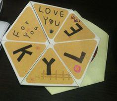 [Nyaku][DIY]六邊形翻轉卡片教學