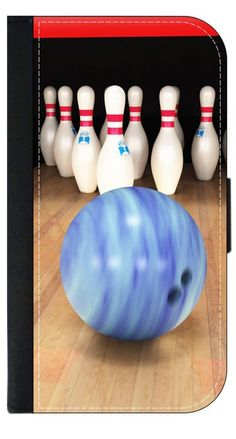 Bowling Lane- Wallet Case for the Apple Iphone 6 PLUS only Universal with a Flap Cover and Magnetic Closing Flap-PU Leather and Suede. Fits the Iphone 6 PLUS only. High Quality Leather-Look Wallet Case with a flap cover and credit card slots. Bold, Clear and Everlasting Flat Image. Quick Shipping. Great customer service! Satisfaction Guaranteed!.
