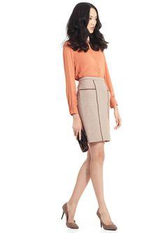 BCBGMAXAZRIA Kimi Pencil Skirt