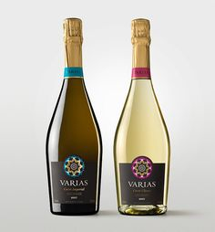 Varias Cuvée - Champagne Packaging Design. Designed by: Global Image, Spain.