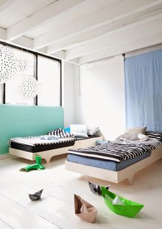 Twin Toddler Modern Beds