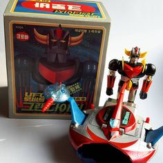 since1980 korea clover grendizer chogokin mint in box/1980년 크로바 초합금 그랜다이져 #since1980 #korea #clover #chogokin #グレンダイザー#grendizer #mint #popy#vintage#greatmazinger  #マジンガー #ポピー#超合金 #godorake #mazinger #goldorak#jumbomachinder  #toy #shogunwarriors #mazinger #collection #크로바 #초합금#그랜다이져 #포피 #고전 #빈티지 #마징가 #태권브이 #수집