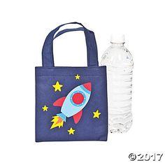 Mini Spaceship Tote Bags