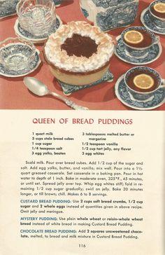 Vintage desserts Recipes 50s   Vintage Recipes: Desserts From 1953 · Posted on November 8, 2013 ...