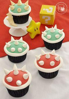 Super Mario Bros themed children's party – party ideas – ideas for mom Cupcakes Super Mario, Super Mario Party, Super Mario Bros, Mario Bros Cake, Super Mario Brothers, Mario Kart Cake, Mario Birthday Cake, Super Mario Birthday, 6th Birthday Parties