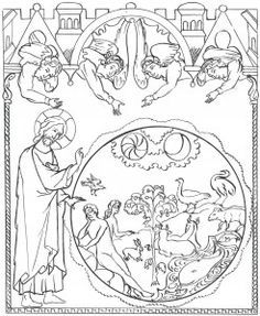 printable orthodox icon coloring pages   Orthodox Christian Icon Coloring Book   Coloring Pages for ...