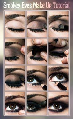 Smokey  Eyes  Makeup  Tutorial
