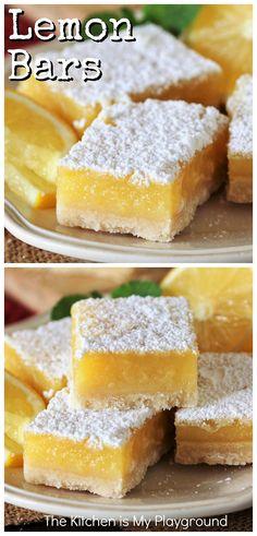 Lemon Desserts, Lemon Recipes, Summer Desserts, Easy Desserts, Sweet Recipes, Delicious Desserts, Dessert Recipes, Potluck Desserts, Strawberry Desserts