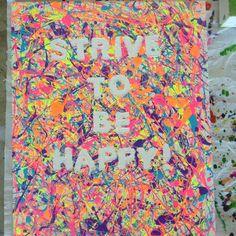 1000 Images About Splatter Paint Canvas On Pinterest