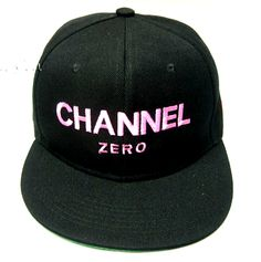Gorra Plana rosa mujer - Snapback cap pink Women Channel Zero