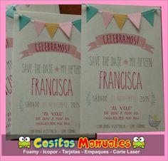 Elaboramos tarjetas de invitación para cumpleaños , celebraciones de 15 años matrimonios  Diseños personalizados en diferentes materiales  *...